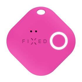 Klíčenka FIXED Smile s motion senzorem (FIXSM-SMM-PN) růžová