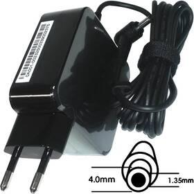 Napájecí adaptér Asus 45W 19V 2P BLK(AC FIX) s EU plug (B0A001-00232500)