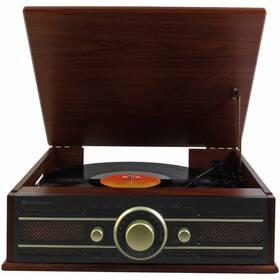 Gramofon Soundmaster PL550BR dřevo