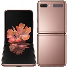 Mobilní telefon Samsung Galaxy Z Flip 5G (SM-F707BZNAXEZ) zlatý