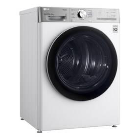 Sušička prádla LG RC91V9AV2QR bílá + LG 10 let záruka na motor/kompresor
