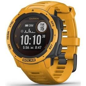 GPS hodinky Garmin Instinct Solar Optic (010-02293-09) žlutá