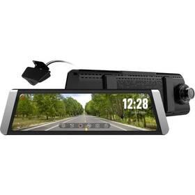 Autokamera CEL-TEC M10s Dual GPS Premium černá/stříbrná