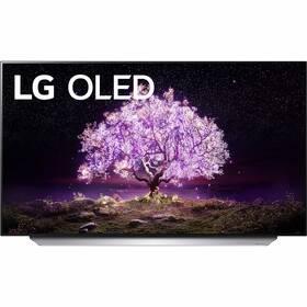 Televize LG OLED55C12 stříbrná/bílá