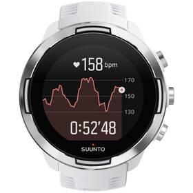 GPS hodinky Suunto 9 Baro s hrudním pásem - White (SS050090000)