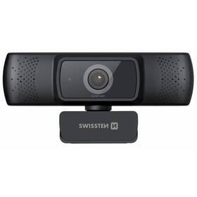 Webkamera Swissten Webcam FHD 1080P (55000001) černá