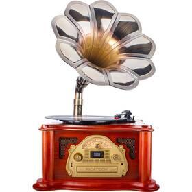 Gramofon Ricatech RMC360 dřevo