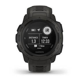 GPS hodinky Garmin Instinct Black Optic (010-02064-00)