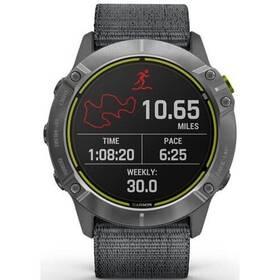 GPS hodinky Garmin Enduro - Silver / Gray Nylon Band (010-02408-00)
