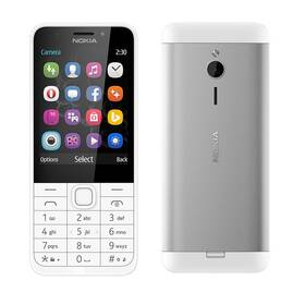 Mobilní telefon Nokia 230 Dual SIM (A00026951) bílý