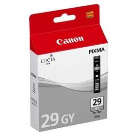 Inkoustová náplň Canon PGI-29 GY - originální (4871B001) šedá
