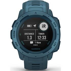 GPS hodinky Garmin Instinct Blue Optic (010-02064-04)