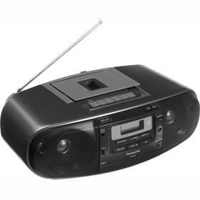 Radiomagnetofon s CD Panasonic RX-D55AEG-K černý