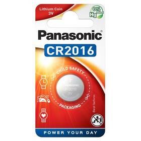 Baterie lithiová Panasonic CR2016, blistr 1ks (CR-2016EL/1B)