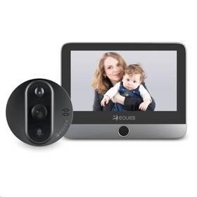 Dveřní videotelefon Eques VEIU Mini 2 (VEIUMINI_2-GR) šedý