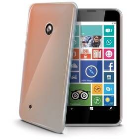 Kryt na mobil Celly Gelskin na Nokia Lumia 530 (GELSKIN427) průhledný