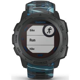GPS hodinky Garmin Instinct Solar Surf Optic (010-02293-07) šedá