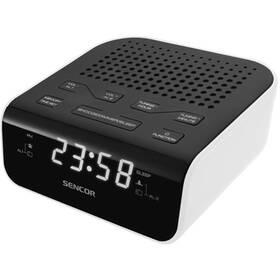 Radiobudík Sencor SRC 136 WH černý/bílý