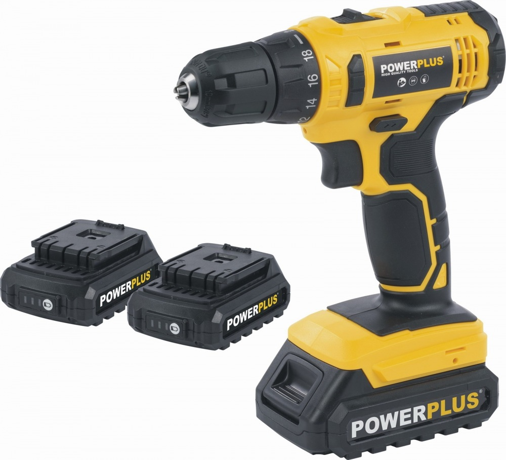 Aku vrtačka Powerplus POWX00500