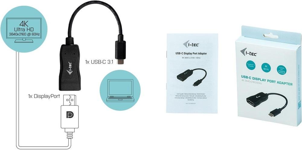 e-tec USB-C / DisplayPort 4K