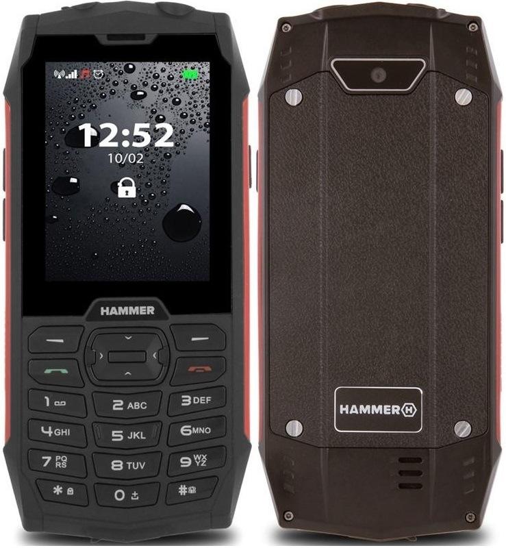 myPhone Hammer 4 Dual SIM, červená