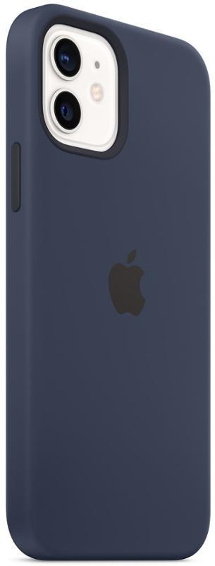 Apple Silicone Case s MagSafe pro iPhone 12 a iPhone 12 Pro - námořnicky tmavomodrý