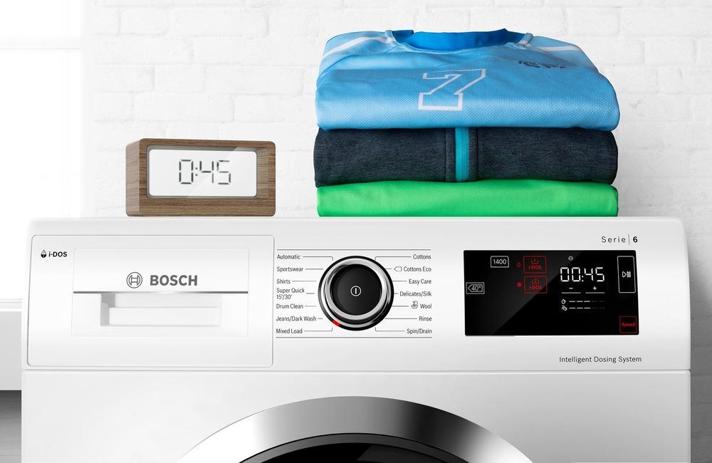 Funkce SpeedPerfect pro rychlejší praní