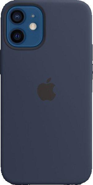 Kryt na mobil Apple Silicone Case s MagSafe pro iPhone 12 Pro Max - námořnicky tmavomodrá