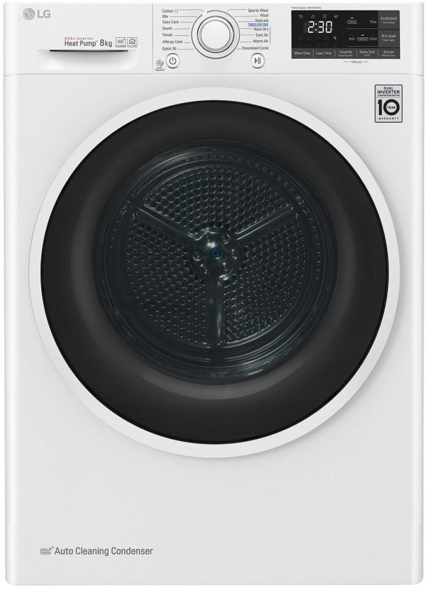 LG RC80EU2AV4D, bílá