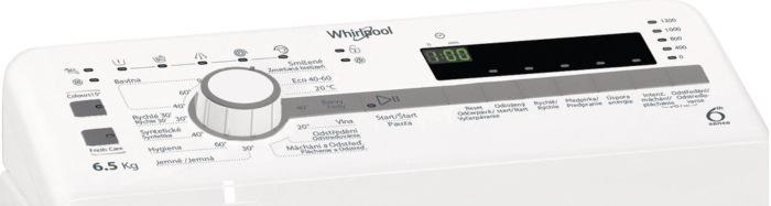 Whirlpool TDLR 65230SS CS/N, bílá