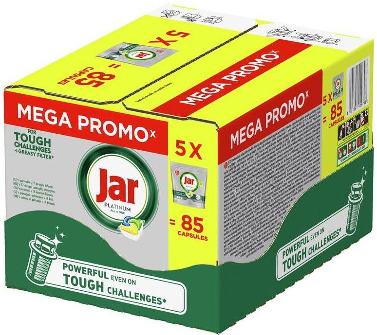 Jar tabs BOX Platinum Yellow 5× 17 ks
