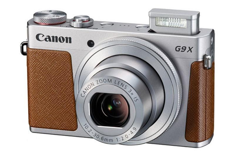Canon PowerShot G9 X, černá