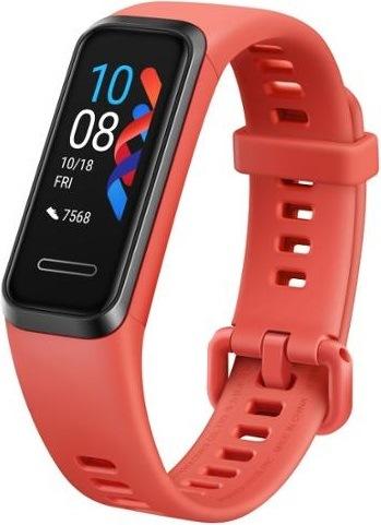 Huawei Band 4, červená