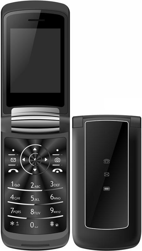 CUBE1 VF400 Dual SIM, černá