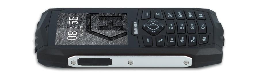myPhone Hammer 3, stříbrná