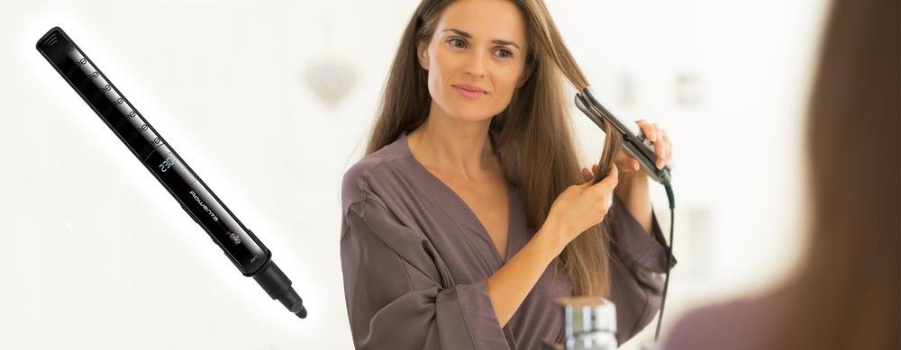 Žehlička na vlasy Rowenta SF4412D4