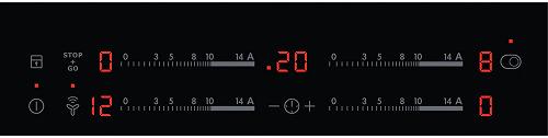 AEG Mastery HK854870FB dotykové ovládání